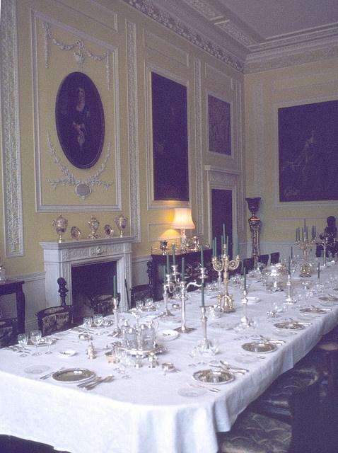 The Dining Room at Ragley Hall