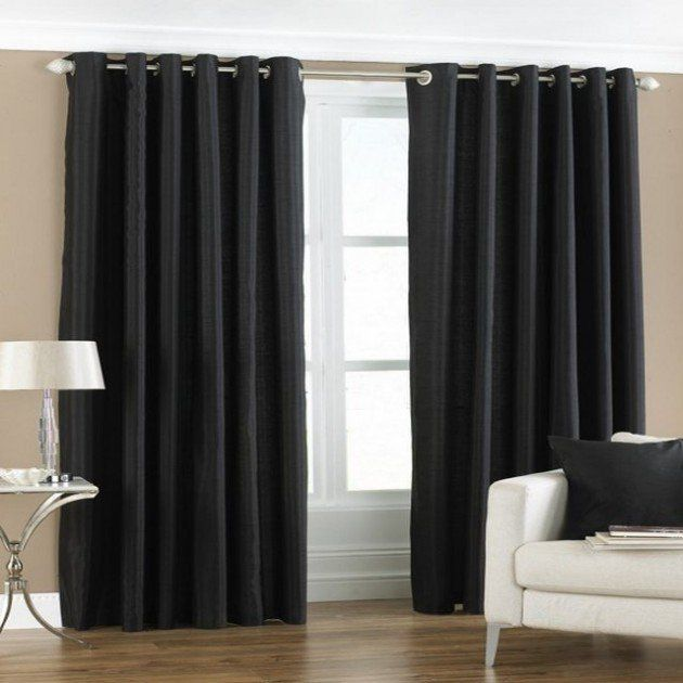 17 Best ideas about Black Curtains on Pinterest | Black curtains ...