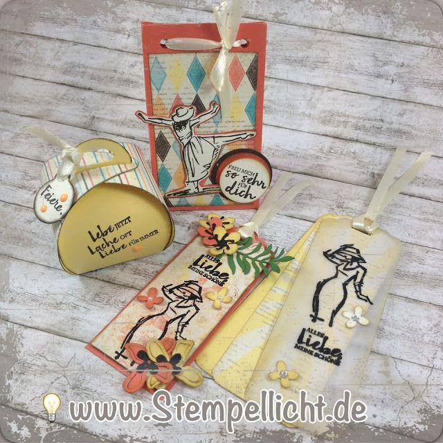 Anhänger und Verpackung / Mit Stil / DP Cupcakes und Karussells