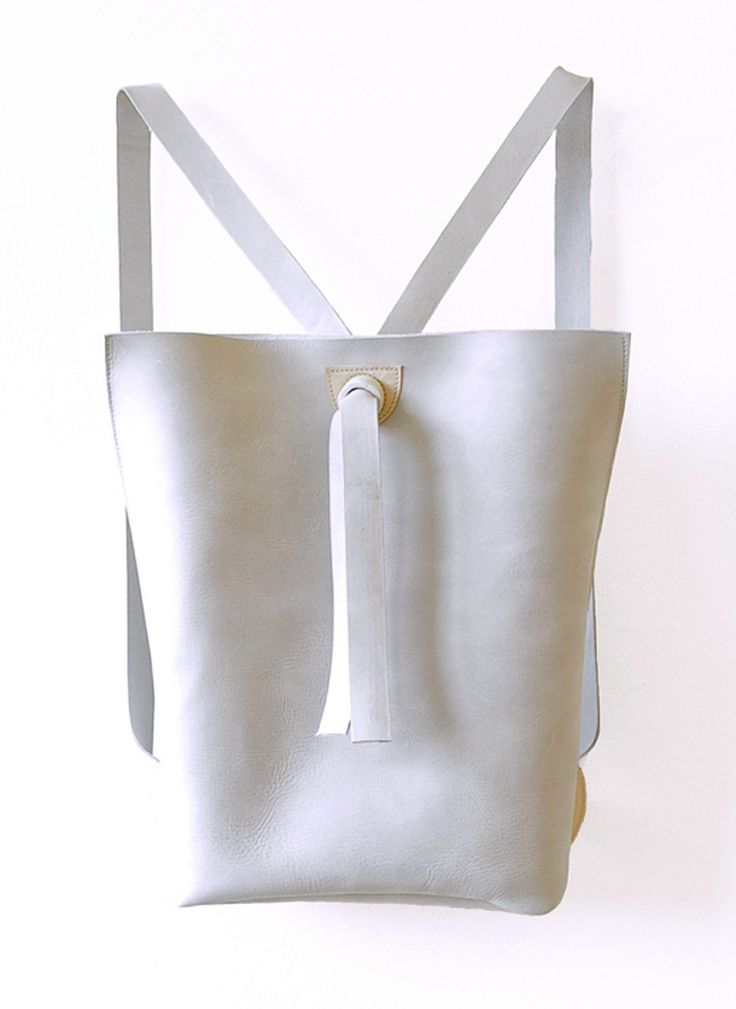 RUCKSACK - 00 - GREY via FIEN DE GRAAF. Click on the image to see more!