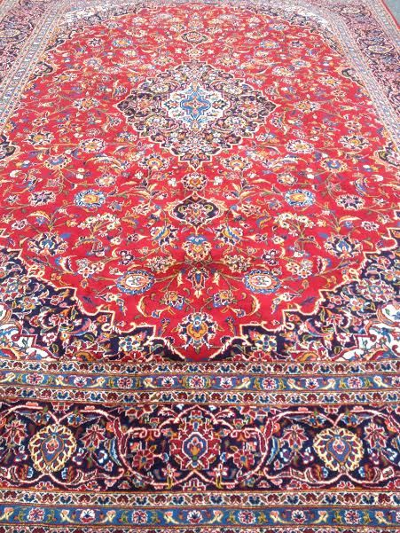 Handmade Kashan Rug In Maryland At Toossi Oriental Rugs
