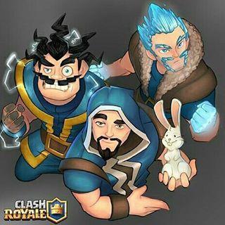 Resultado de imagen para clash royale mago de hielo