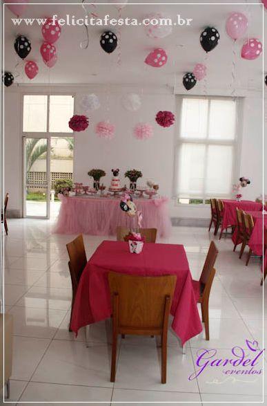.: Felicità Festa . comemorações personalizadas :.: Minnie Rosa da Maria Vitória
