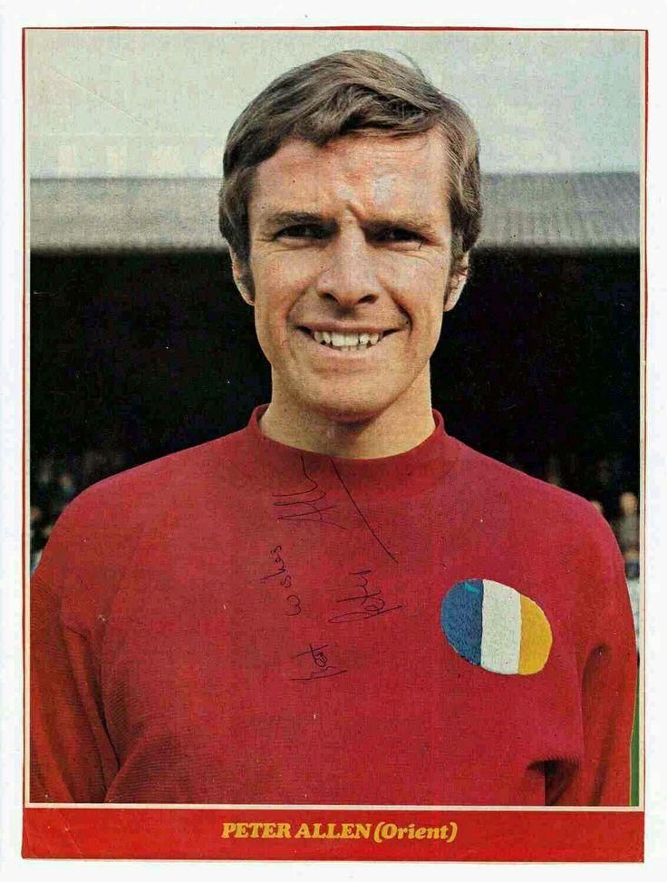 Peter Allen of Leyton Orient in 1969.