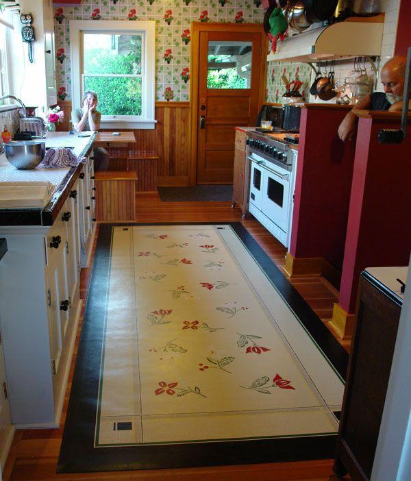 Retro Linoleum Kitchen Flooring: 77 Best Images About Vintage Linoleum On Pinterest