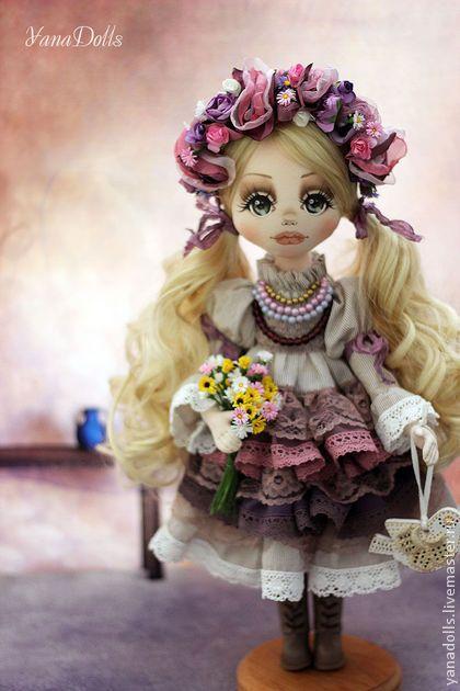 Лилея-Украина в стиле Бохо. - сиреневый,кукла,украина,украинский стиль