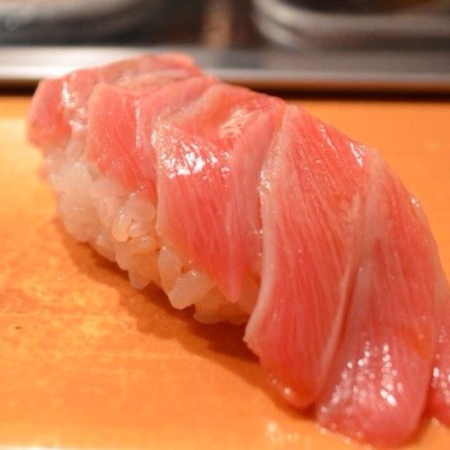 Toro sushi.....good night now!!!