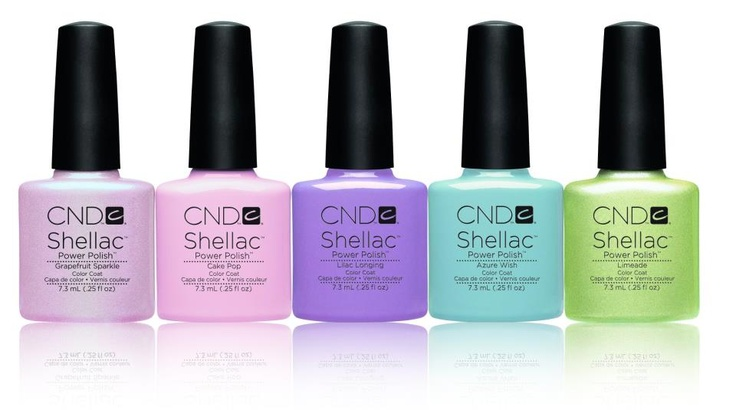 Our NEW CND Shellac™ Sweet Dreams Collection  is now available in salons worldwide!  #UnlockCNDSecretPinboard