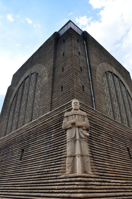 South Africa's history museum giant statues