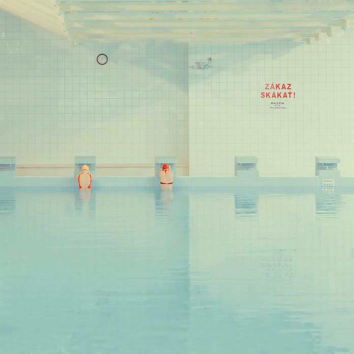 Swimming Pool, the continuation of an ongoing photo series by Maria Svarbova.