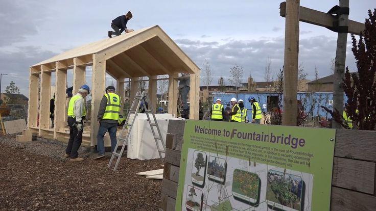 WikiHouseEDIN // 2015 // Fountainbridge, Edinburgh // Community-Use WikiHouse