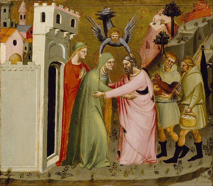 File:Master of the Golden Gate - The Meeting of Anna and Joachim at the Golden Gate - Google Art Project.jpg