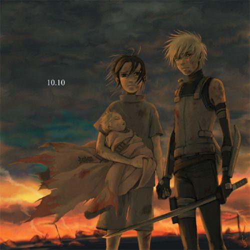Naruto - Kakashi Hayate x Iruka Umino - KakaIru