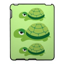 Cute Turtle Ipad Cases by toxiferous