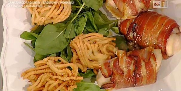 La ricetta del pollo goloso e spaghetti fritti di patate di Natalia Cattellani | Ultime Notizie Flash