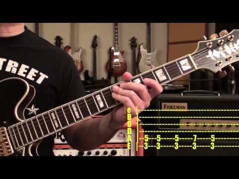 *TABS* How to Play BEATLES Paperback Writer Guitar Lesson - YouTube