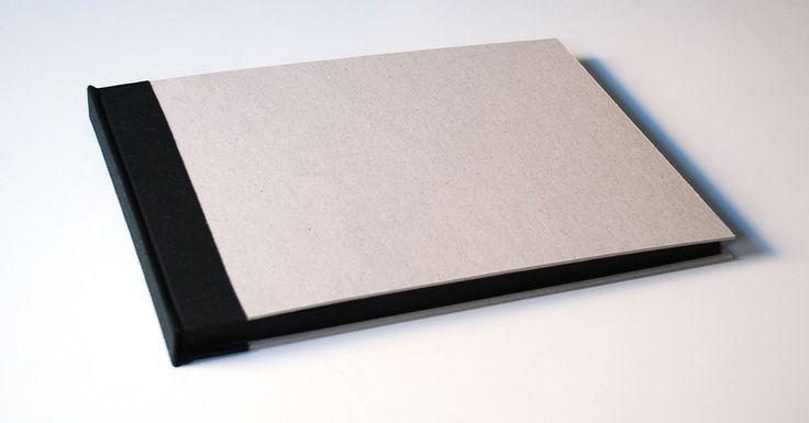klasyczny album, surowa tektura 25x34cm, 40k - Kajet - Albumy na zdjęcia