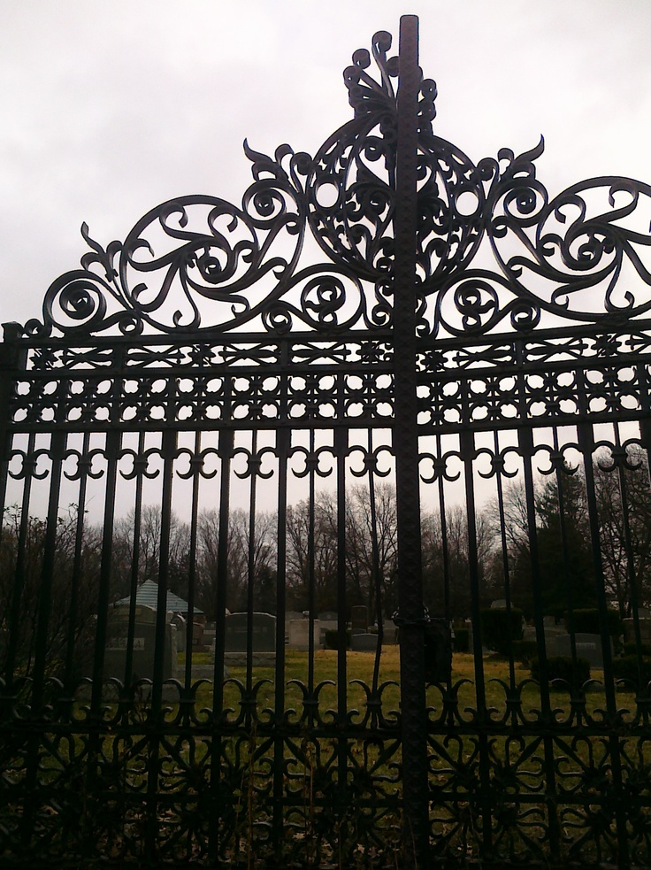 Creepy graveyard gate imgkid the image kid has it