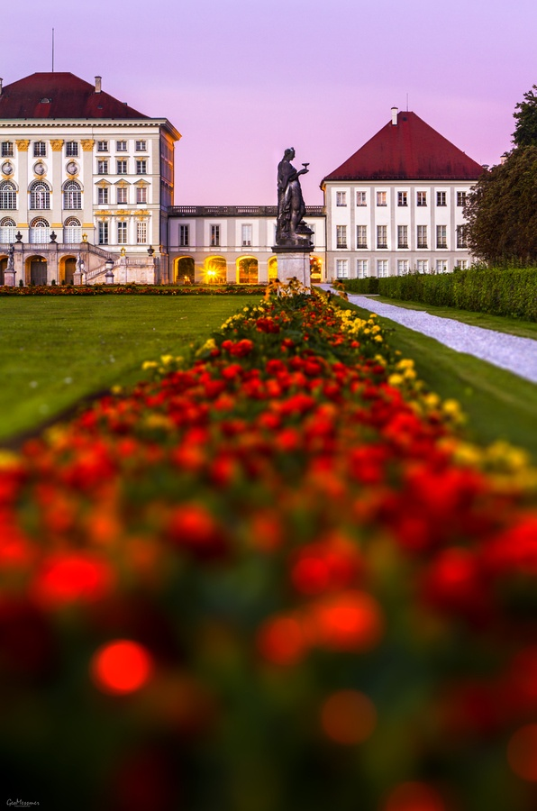 Nymphenburg Palace aka Nymph's Castle, is a Baroque palace in Munich, Bavaria, southern Germany.  Go to www.YourTravelVideos.com or just click on photo for home videos and much more on sites like this.