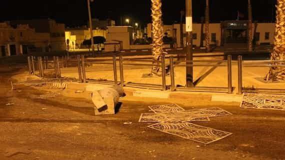 أحداث تخريبية بمدينة العيون موازاة مع الاحتفالات بفوز المنتخب الجزائري بكأس افريقيا لكرة القدم