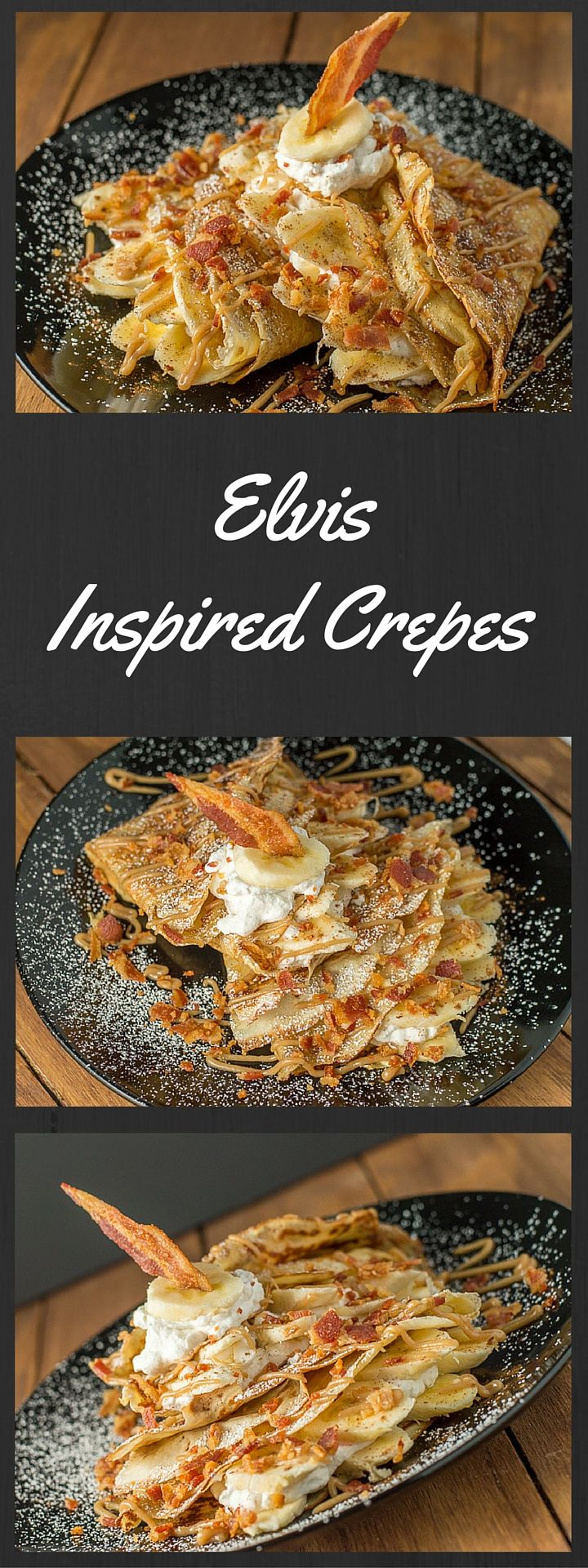 "I ""Can't Help Falling In Love"" with these Elvis Inspired Crepes:"