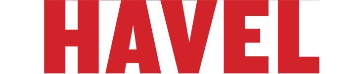 """logo wystawy """"Vaclav Havel na wyciągnięcie ręki"""" średniowieczne piwnice MCK"""