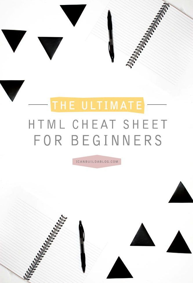 Below is a complete guide of HTML codes that you can copy and paste for use on your own blog or website. Although I like to insist on bloggers taking the time to learn how to write these codes and know what each part of them does, sometimes you need a code in a pinch!Keep Reading