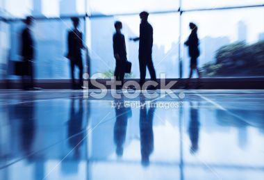 Group of Business People the Office Royalty Free Stock Photo