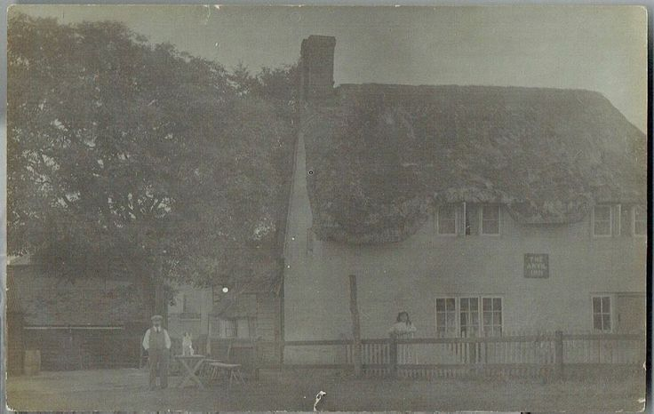 The Anvil Inn, Letcombe Regis, Oxfordshire - Real Photo 1906 Postcard | eBay