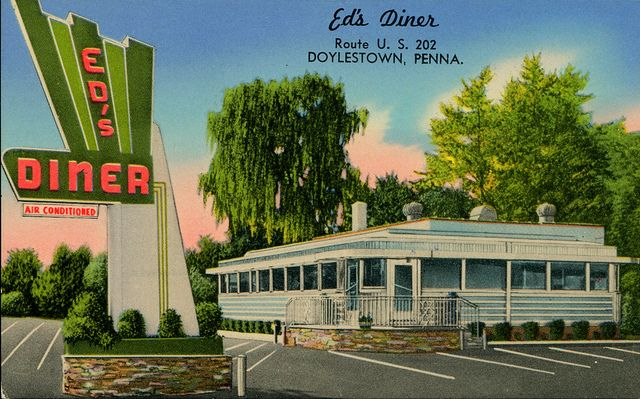 Ed's Diner, Doylestown, Pennsylvania