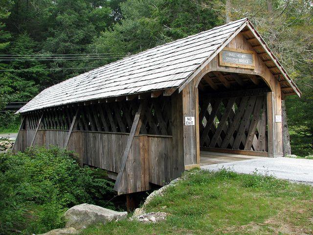 Will Henry Stevens Covered Bridge, Highlands, NC