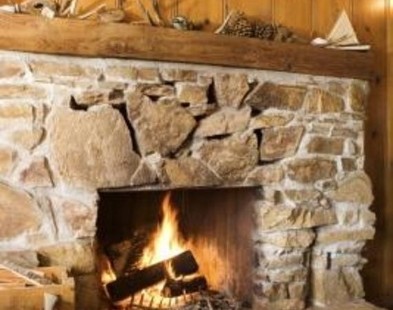 How To Whitewash A Stone Fireplace Future House Projects Pinterest