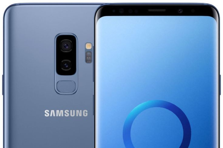 Leaking high quality images review Galaxy S9 وS9 plus blue and black Galaxy S9 Galaxy S9 Plus Rumors and leaks Samsung