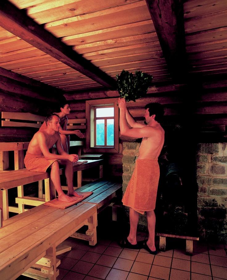 Banja-Zeremonie #aufguss #sauna