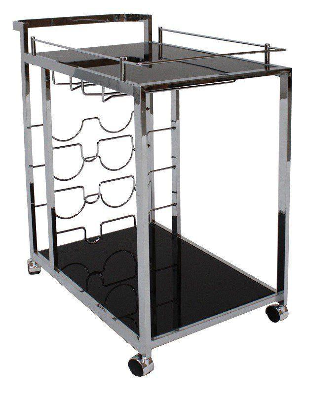 Fogy+Rullebord+-+Sort+-+Lækkert+moderne+sort+rullebord+fremstillet+i+metal.+Rullebordet+passer+godt+ind+i+det+moderne+hjem+og+kan+blandt+andet+bruges+som+barbord+eller+til+at+udstille+smukke+blomster+og+vaser.