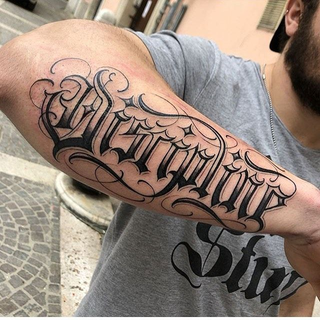 Lettering Tattoo C L On Instagram Discipline Done By The Bro
