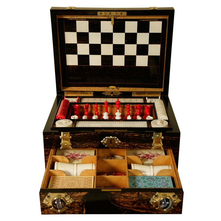 A Victorian Games Compendium | From a unique collection of antique and modern games at http://www.1stdibs.com/furniture/more-furniture-collectibles/games/