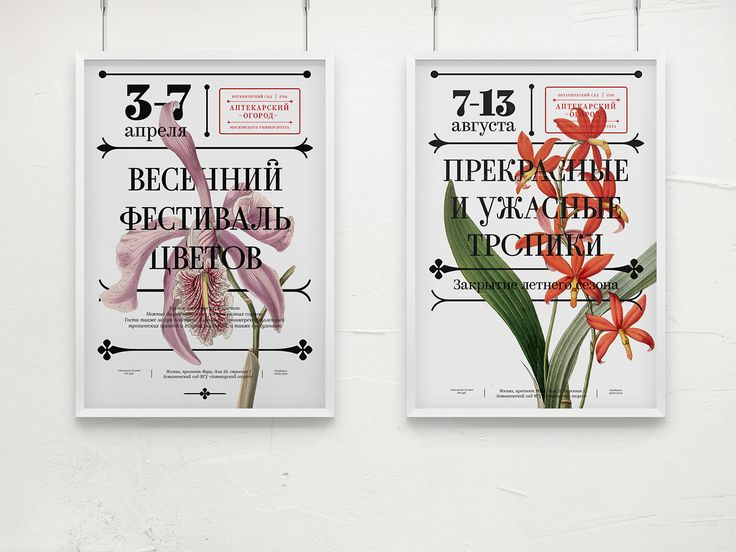 Botanical Garden «Aptekarsky Ogorod» on Behance