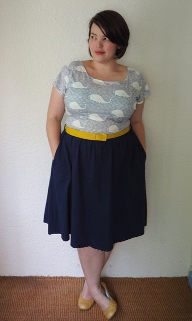 DIY: Show Me The Moneta | Frocks & Frou Frou - I have to do this with my whale fabric