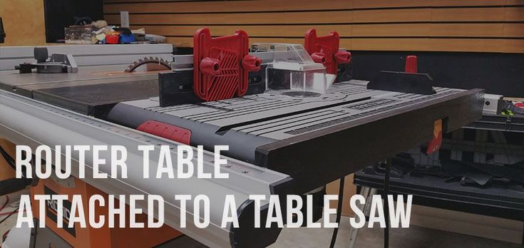 Don't miss out on a new article How to Attach a Router Table to a Table Saw on http://ift.tt/2aeSltj