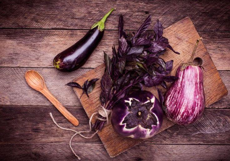 Alimentos roxos para combater o colesterol