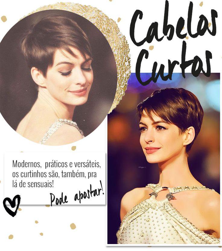 Corte de cabelo curto: várias ideias pra inspirar, de acordo com cada formato de rosto!