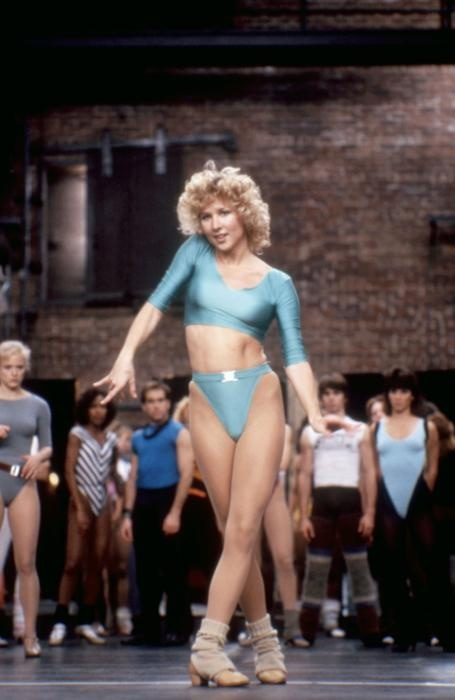 Michelle Johnston in A Chorus Line. This chick right here--she had major skills!