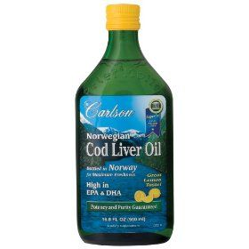 Cod liver oil for acne! I'll probably be giving this a try. It's much easier to find than Brewer's Yeast or Flax Seed Oil.