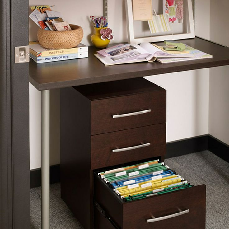 Closetmaid 174 Shelftrack Elite Home Office Kit Closetmaid