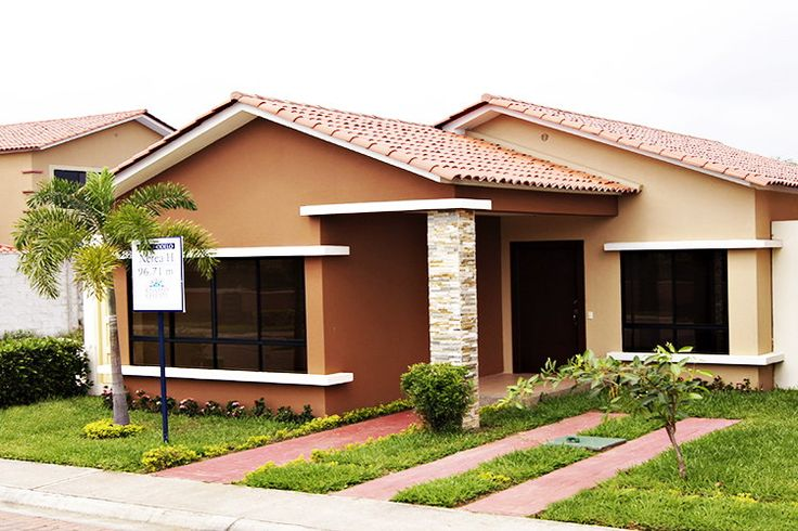 Pin de christian arroyo em ideas de casas bungalow house for Disenos de fachadas de casas pequenas