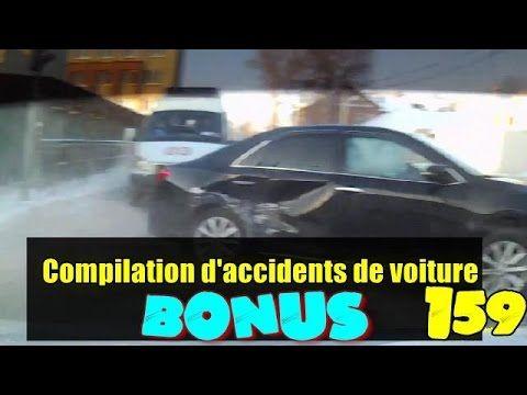 Car crash compilation #159 / Compilation d'accident de voiture n°159 + Bonus