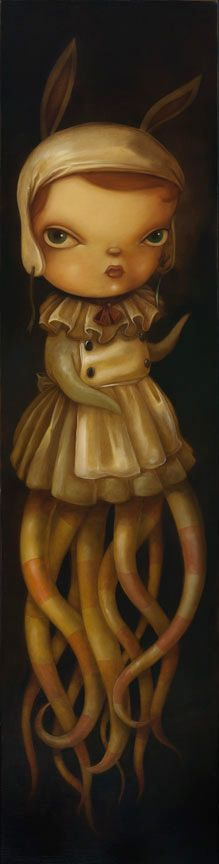 """""""Ethereal"""" oil on canvas by Kathie Olivas - Carefully selected by GORGONIA - www.facebook.com/gorgonia.it <3"""