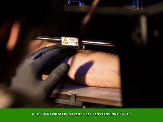 Мода будущего. Принтер, печатающий татурировки. Тату-принтер.