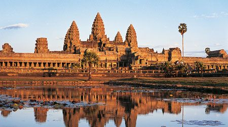 Cambodge ou les temples d'Angkor